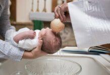 chrzest święty, dziecko
