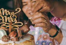 małżeństwo kroki tort na rocznicę, 50. rocznica ślubu