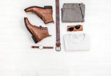 męska stylizacja, szafa kapsułowa, ciuchy męskie, buty, koszulka, spodnie