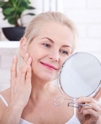 Mycie twarzy żelem